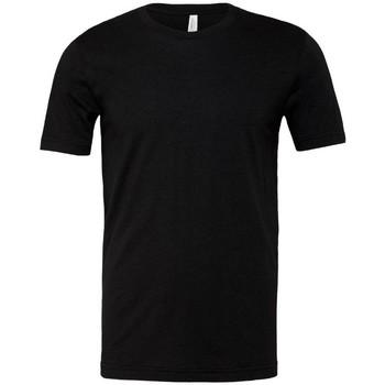 textil Herre T-shirts m. korte ærmer Bella + Canvas CA3001 Heather Black