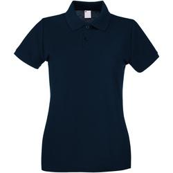 textil Dame Polo-t-shirts m. korte ærmer Universal Textiles 63030 Midnight Blue