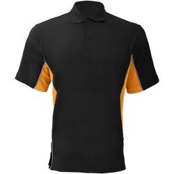 textil Herre Polo-t-shirts m. korte ærmer Gamegear KK475 Black/Orange/White