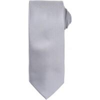 textil Herre Slips og accessories Premier PR780 Silver