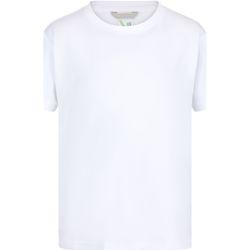 textil Børn T-shirts m. korte ærmer Regatta RA011B White
