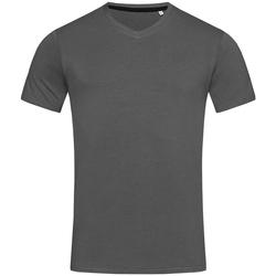 textil Herre T-shirts m. korte ærmer Stedman Stars Clive Slate Grey