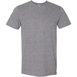 textil Herre T-shirts m. korte ærmer Gildan Soft-Style Graphite Heather