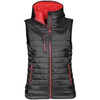 textil Dame Veste / Cardigans Stormtech PFV-2W Black/ True Red