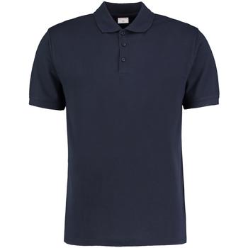 textil Herre Polo-t-shirts m. korte ærmer Kustom Kit KK413 Navy Blue