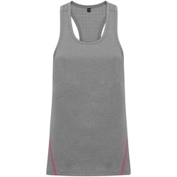 textil Dame Toppe / T-shirts uden ærmer Tridri TR041 Silver Melange