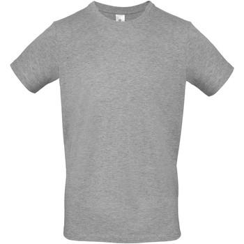 textil Herre T-shirts m. korte ærmer B And C TU01T Sport Grey