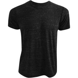 textil T-shirts m. korte ærmer Bella + Canvas CA3650 Black Marble