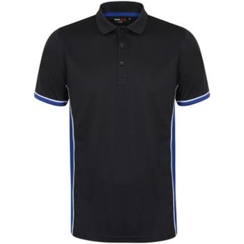 textil Herre Polo-t-shirts m. korte ærmer Finden & Hales TopCool Navy/Royal/White