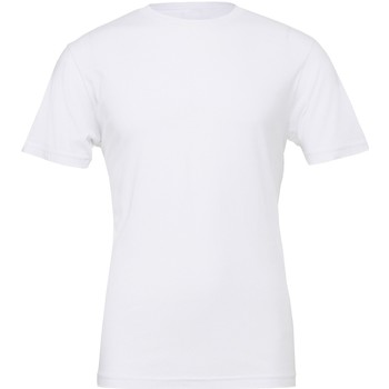 textil T-shirts m. korte ærmer Bella + Canvas CV001 White