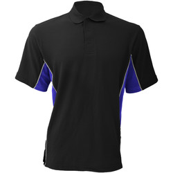 textil Herre Polo-t-shirts m. korte ærmer Gamegear KK475 Black/Royal/White