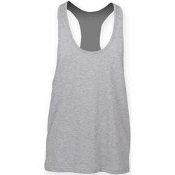 textil Herre Toppe / T-shirts uden ærmer Skinni Fit SF236 Heather Grey