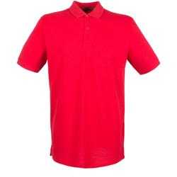 textil Herre Polo-t-shirts m. korte ærmer Henbury HB101 Classic Red