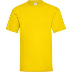 textil Herre T-shirts m. korte ærmer Universal Textiles 61036 Bright Yellow