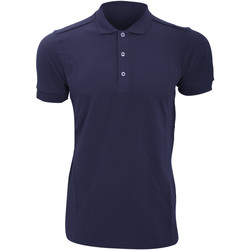 textil Herre Polo-t-shirts m. korte ærmer Russell 566M French Navy