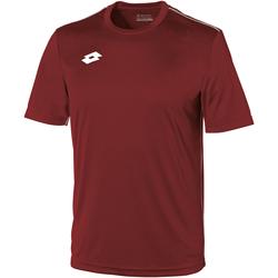 textil Børn T-shirts m. korte ærmer Lotto LT26B Granata/White