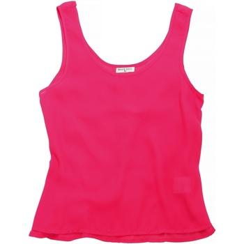 textil Dame Toppe / T-shirts uden ærmer Brave Soul BS163 Bubblegum Pink