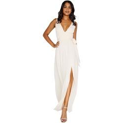 textil Dame Lange kjoler Little Mistress Plunge Nude