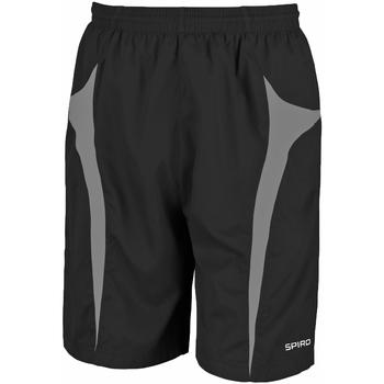 textil Herre Shorts Spiro S184X Black/Grey