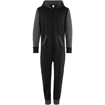 textil Børn Buksedragter / Overalls Comfy Co CC03J Black/Charcoal