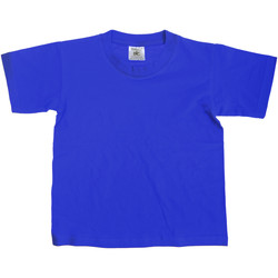textil Børn T-shirts m. korte ærmer B And C TK300 Royal
