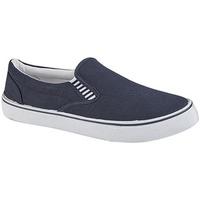 Sko Dreng Slip-on Dek  Navy Blue
