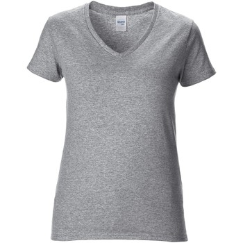 textil Dame T-shirts m. korte ærmer Gildan GD015 RS Sport Grey
