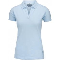 textil Dame Polo-t-shirts m. korte ærmer Nimbus Harvard Sky Blue