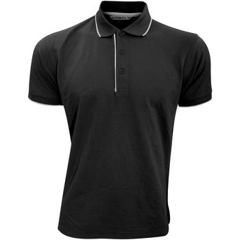 textil Herre Polo-t-shirts m. korte ærmer Kustom Kit Essential Black/White