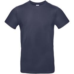 textil Herre T-shirts m. korte ærmer B And C TU03T Urban Navy