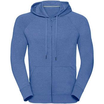 textil Herre Sweatshirts Russell J284M Blue Marl