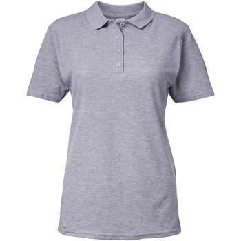 textil Dame Polo-t-shirts m. korte ærmer Gildan 64800L Sport Grey