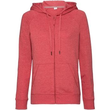 textil Dame Sweatshirts Russell J284F Red Marl