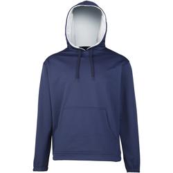 textil Dreng Sweatshirts Rhino RH70B Navy/Grey