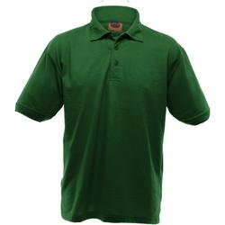 textil Herre Polo-t-shirts m. korte ærmer Ultimate Clothing Collection UCC004 Bottle Green