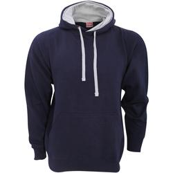 textil Herre Sweatshirts Fdm FH002 Navy/Heather Grey