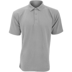 textil Herre Polo-t-shirts m. korte ærmer Ultimate Clothing Collection UCC003 Heather Grey