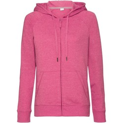 textil Dame Sweatshirts Russell J284F Pink Marl