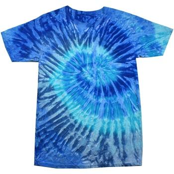 textil Dame T-shirts m. korte ærmer Colortone Rainbow Blue Jerry