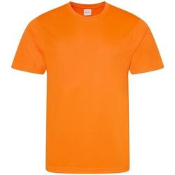 textil Herre T-shirts m. korte ærmer Awdis JC001 Electric Orange