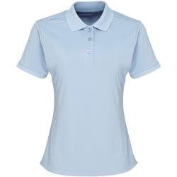 textil Dame Polo-t-shirts m. korte ærmer Premier PR616 Light Blue