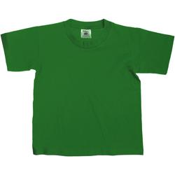 textil Børn T-shirts m. korte ærmer B And C TK300 Bottle Green