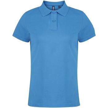 textil Dame Polo-t-shirts m. korte ærmer Asquith & Fox  Sapphire