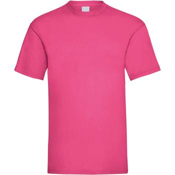 textil Herre T-shirts m. korte ærmer Universal Textiles 61036 Hot Pink