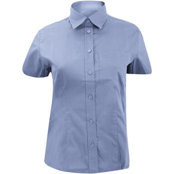 textil Dame Skjorter / Skjortebluser Kustom Kit KK719 Light Blue