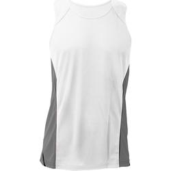 textil Herre Toppe / T-shirts uden ærmer Gamegear KK973 White/Grey