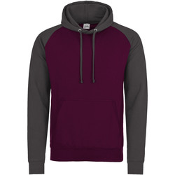 textil Herre Sweatshirts Awdis JH009 Burgundy/Charcoal