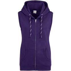 textil Dame Sweatshirts Awdis JH57F Purple