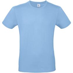textil Herre T-shirts m. korte ærmer B And C TU01T Sky Blue