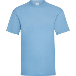 textil Herre T-shirts m. korte ærmer Universal Textiles 61036 Light Blue